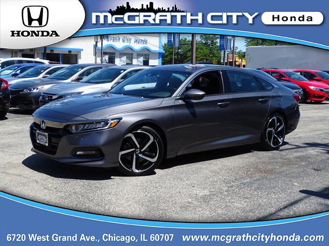 Pre-Owned 2018 Honda Accord Sedan Sport 2.0T