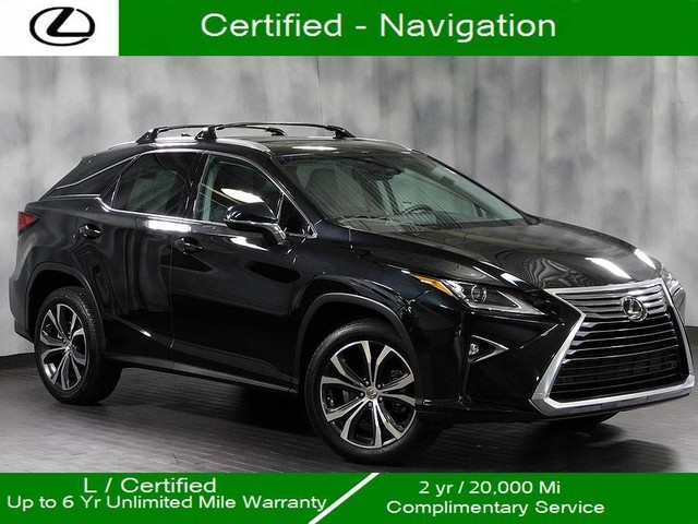Certified Pre Owned 2017 Lexus Rx 350 Awd Nav 20 Suv
