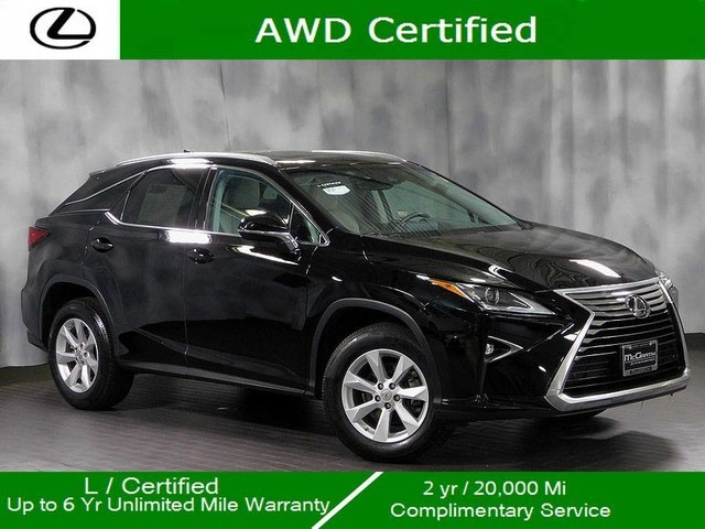 Certified Pre-Owned 2016 Lexus RX 350 Awd Premium