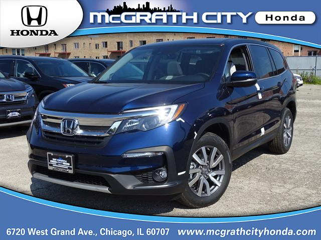 Certified Pre Owned 2019 Honda Pilot Ex L Sport Utility In Chicago