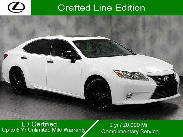 Certified Pre-Owned 2015 Lexus ES 350 Crafted Line