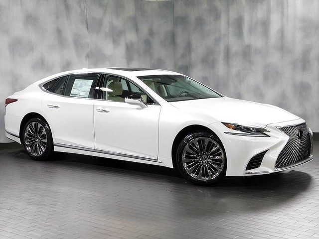 New 2019 Lexus LS 500 Awd Navigation