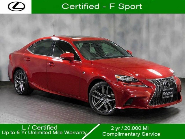 Certified Pre-Owned 2015 Lexus IS 350 F Sport