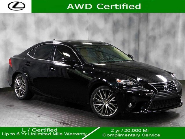 Certified Pre-Owned 2015 Lexus IS 250 Awd Premium