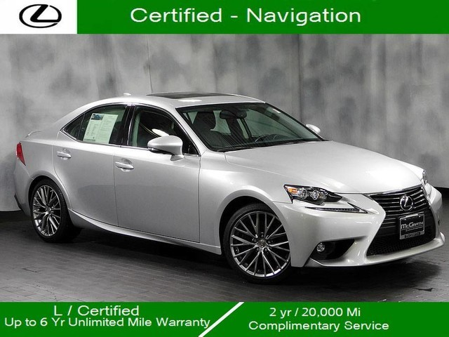 Certified Pre-Owned 2016 Lexus IS 300 Awd Navigation