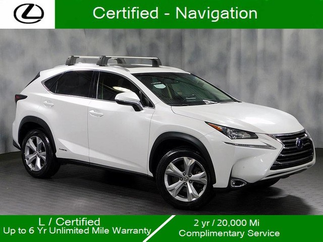 Certified Pre Owned 2017 Lexus Nx 300h Awd Hybrid