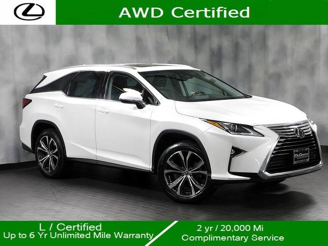 Certified Pre-Owned 2018 Lexus RX 350L Awd Premium