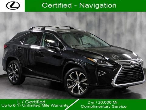 Certified Pre-Owned 2017 Lexus RX 350 Awd Navigation