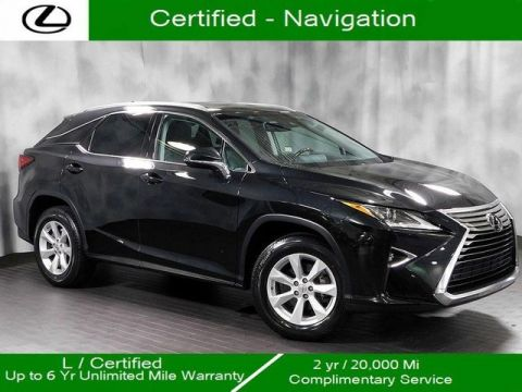 Certified Pre-Owned 2016 Lexus RX 350 Awd Navigation