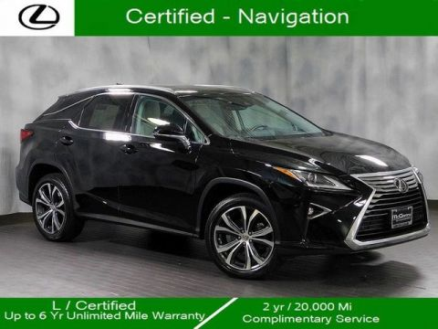 Certified Pre-Owned 2016 Lexus RX 350 Awd/Nav/20