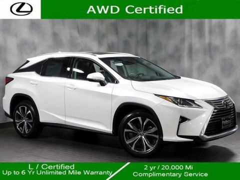 Certified Pre-Owned 2018 Lexus RX 350 Awd Premium