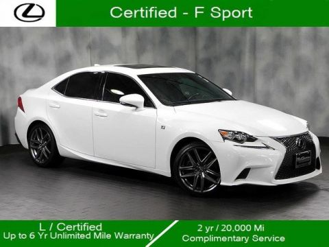 Certified Pre-Owned 2016 Lexus IS 350 F Sport
