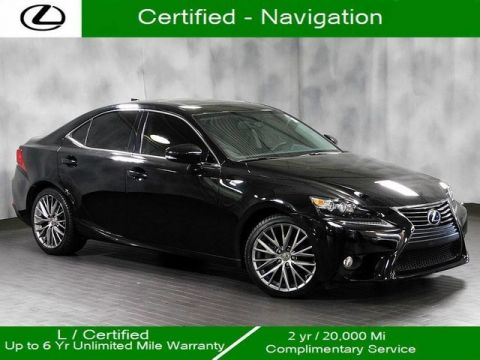 Certified Pre-Owned 2014 Lexus IS 250 Awd Navigation