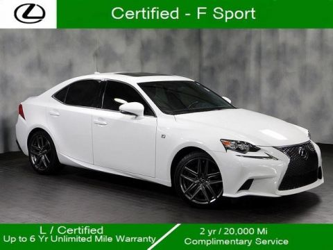 Certified Pre-Owned 2016 Lexus IS 300 F Sport