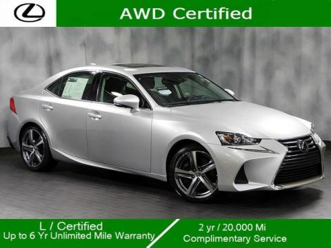 Certified Pre-Owned 2017 Lexus IS 300 Awd Premium