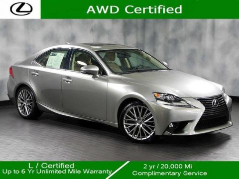 Certified Pre-Owned 2016 Lexus IS 300 Awd Premium