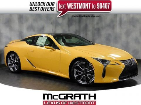 New 2019 Lexus LC 500 Inspriration