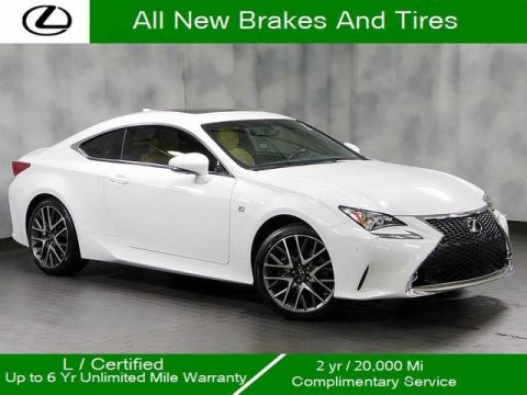 Certified Pre-Owned 2016 Lexus RC 300 F Sport
