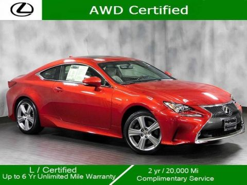 Certified Pre-Owned 2016 Lexus RC 300 Awd Navigation