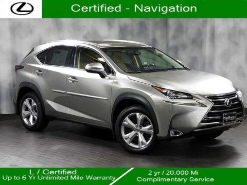 Certified Pre-Owned 2017 Lexus NX 200t Awd Navigation