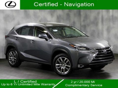 Certified Pre-Owned 2016 Lexus NX 200t Awd Navigation