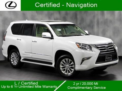 Certified Pre-Owned 2018 Lexus GX 460 4WD Navigation