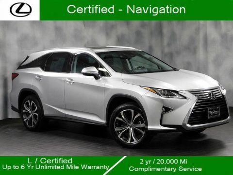 Certified Pre-Owned 2018 Lexus RX 350L Awd Navigation